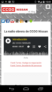 CCOO NISSAN screenshot 3