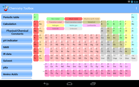 Chemistry Toolbox screenshot 6