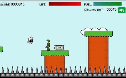 Jet Pack Kitty Attack screenshot 1