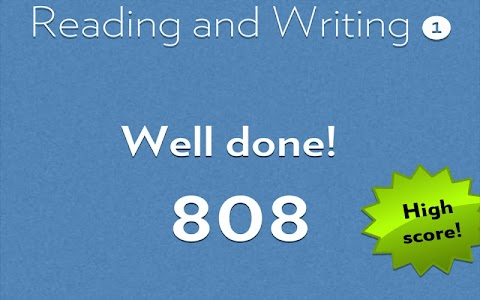 Reading & Writing 1 screenshot 4