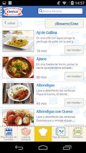 Carozzi Carozzinando Recetas screenshot 3