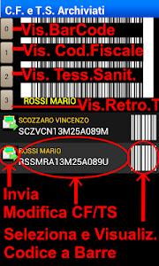 Tess. Sanitaria Codice Fiscale screenshot 1