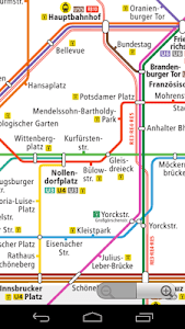 Berlin Subway Map screenshot 0