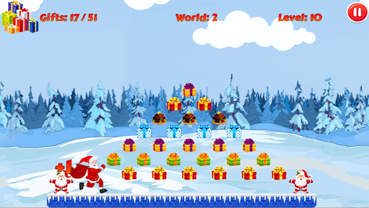 Christmas Santa Run screenshot 2