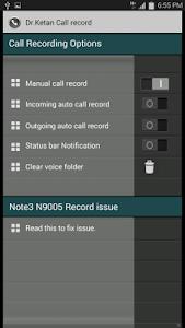 Dr.Ketan Auto Record Trial screenshot 0