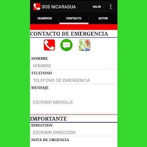 SOS NICARAGUA screenshot 4