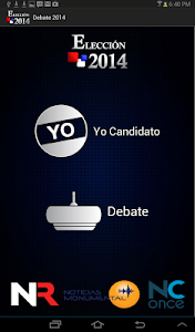 Debate Repretel 2014 screenshot 0