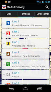 Madrid Subway Off-Line screenshot 3