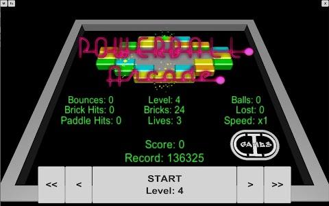 Powerball Arcade (3D Arkanoid) screenshot 4