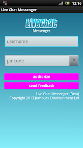 Live Chat Messenger screenshot 0