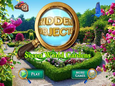 Hidden Objects Secret Gardens! screenshot 10