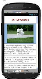 Best Suicide Quotes screenshot 4