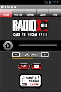 RadioX 96.8 screenshot 1
