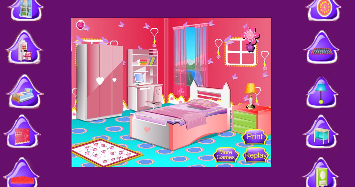 Kids Room Decoration Girl Game ScreenshotBedroom Design Games For Girls   Ideasidea. Pink Room Decoration Games. Home Design Ideas