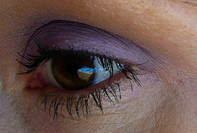 Eye makeup look by Bionic Beauty blog - Purple eyeshadows by Spell Cosmetics