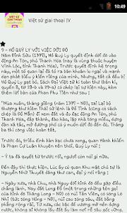 Việt sử giai thoại IV screenshot 3