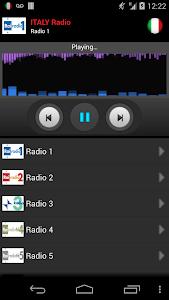 RADIO ITALY screenshot 0