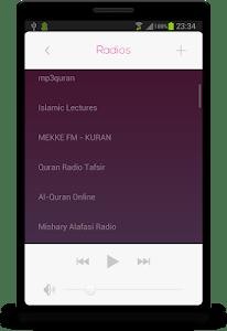Islamic RADIO screenshot 1