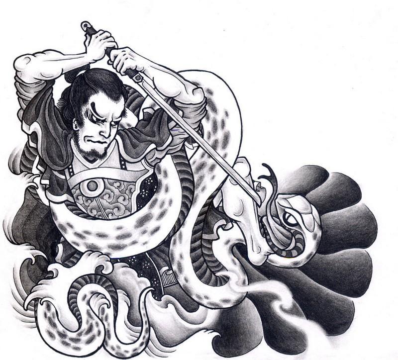 Samurai Tattoo Wallpaper  Applications Android sur Google