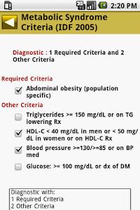 MedCalc 3000 Endocrine screenshot 4