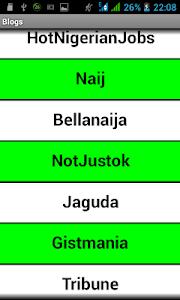 Naija Blogs screenshot 1