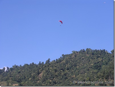 Paragliding in Pokhara : Leisure pics in Pokhara