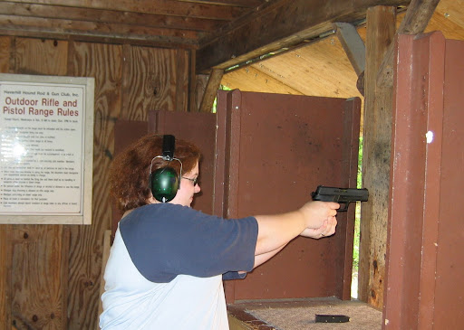 SigSauer P226 in 9mm.