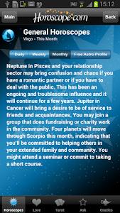 Horoscope and Tarot screenshot 3