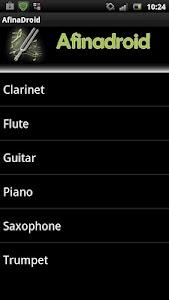 Tuner - Afinadroid screenshot 1