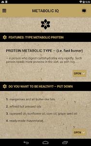 Metabolic IQ screenshot 7