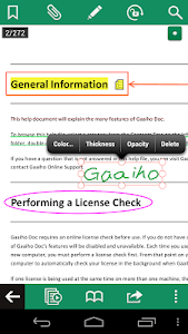 Gaaiho PDF Reader screenshot 1