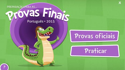 Provas Finais Português screenshot 5
