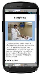 Dyslexia Disease & Symptoms screenshot 2