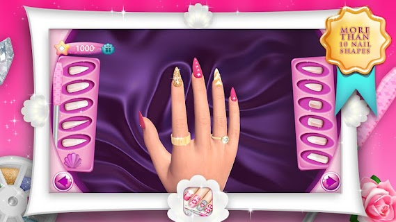 Fashion Nails 3D Girls Game screenshot 00