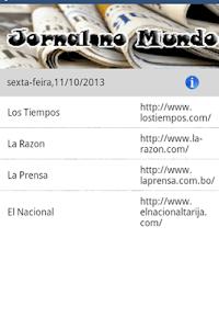 Jornal no Mundo screenshot 3