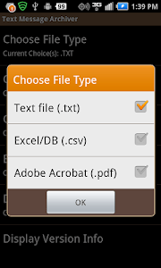 Text Message Archiver screenshot 3