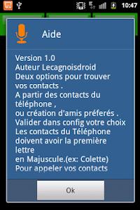 SMS parlant francais screenshot 7