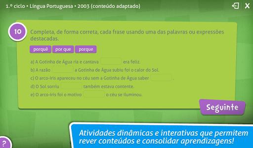 Provas Finais Português screenshot 2