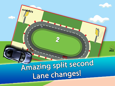 2 Cars 2 Lanes - Don't Crash! screenshot 7