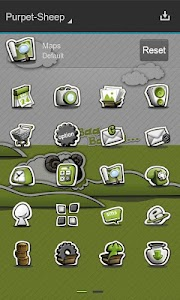 Next Launcher Theme P.Sheep screenshot 6