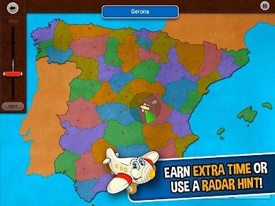 GeoFlight Spain: Geography screenshot 2