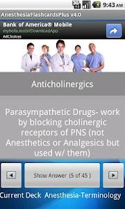 Anesthesia Flashcards Plus screenshot 1