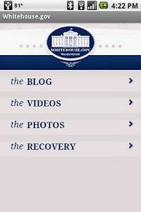 Whitehouse.gov screenshot 0