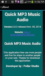 Quick MP3 Music Audio screenshot 10