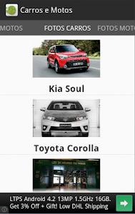 Carros e motos - Notícias screenshot 2