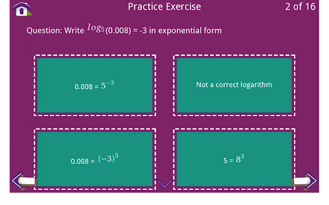 Grade 10 Math Learning Cards screenshot 14