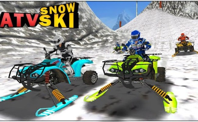 Atv Snow Ski Racing File For Android Android Games Apk