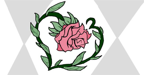 Simple Rose Drawings Sketchport