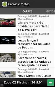 Carros e motos - Notícias screenshot 0