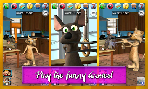 Talking Cat Vs. Mouse Deluxe screenshot 3
